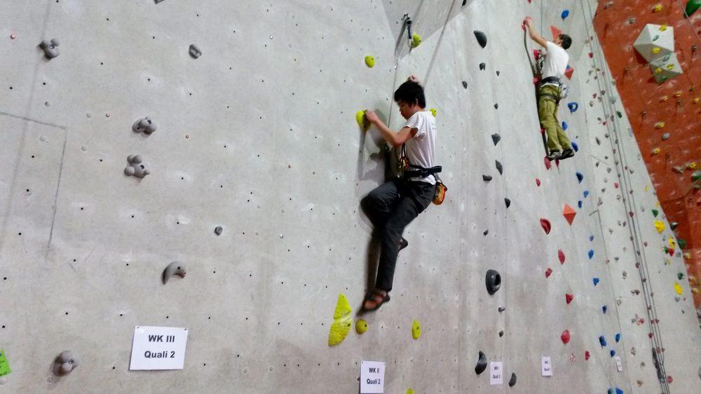 Sächsischer Schulcup im Klettern 2015